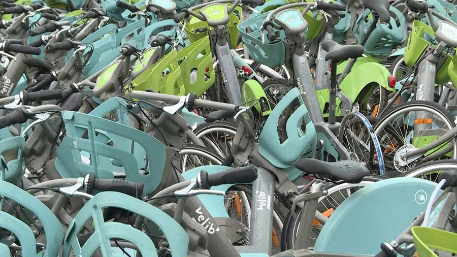 Repairs skyrocket as 'Velib' bikes hit by French transport strike