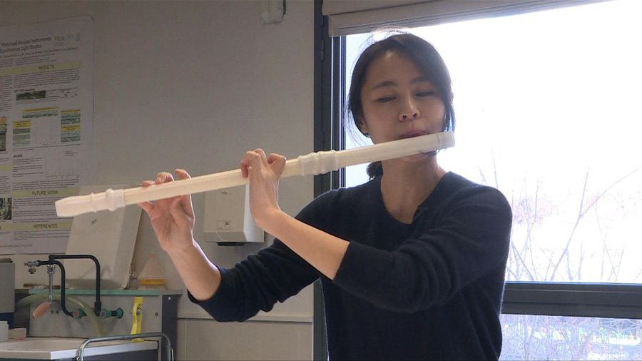 French lab creates 3D reproduction of 18th century flute