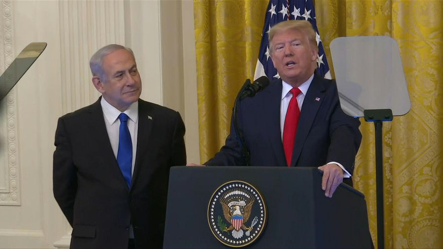 Trump says his plan 'could be last opportunity' for Palestinians