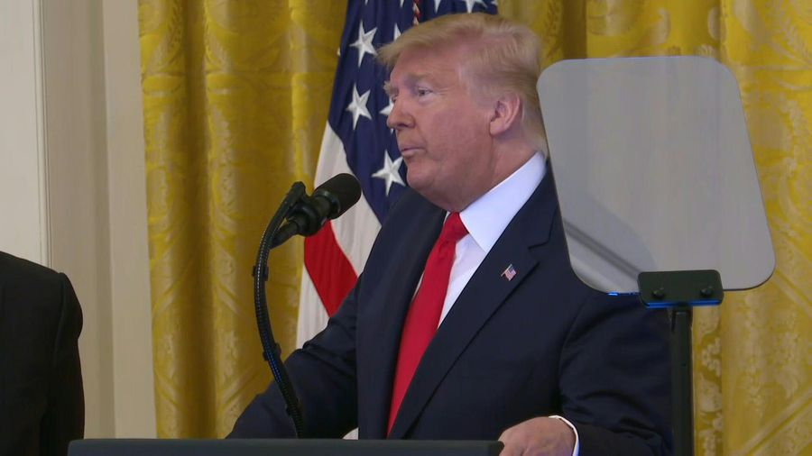 Trump says Mideast plan proposes 'realistic two-state solution'