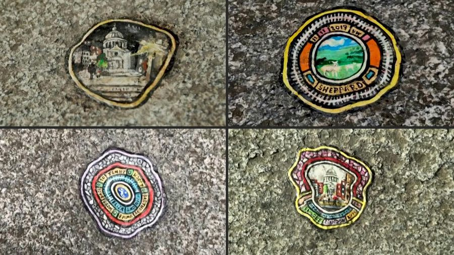 """In London, a """"chewing gum artist"""" makes miniature marvels from throwaway culture"""