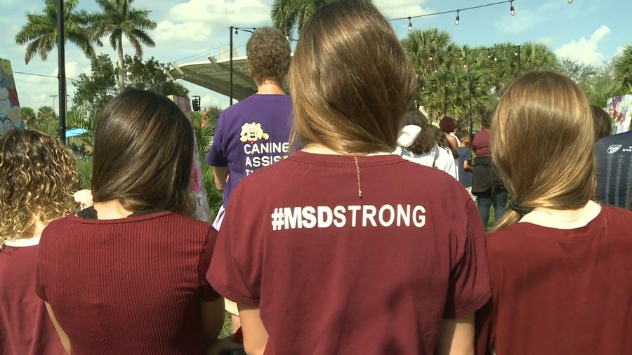 Parkland holds moment of silence for shooting victims on two-year anniversary