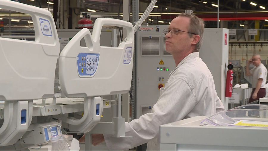 French companies respond to increasing demand for medical equipment