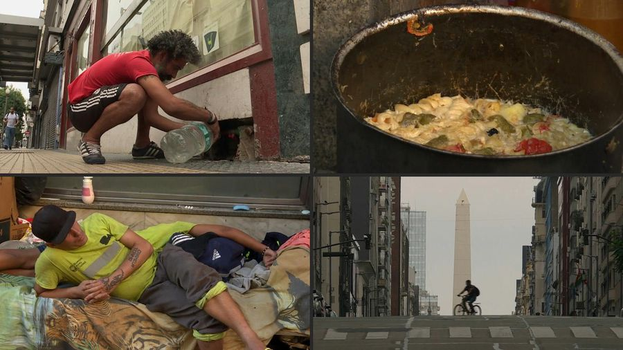 Coronavirus: sceptical of COVID-19, Buenos Aires homeless fear hunger