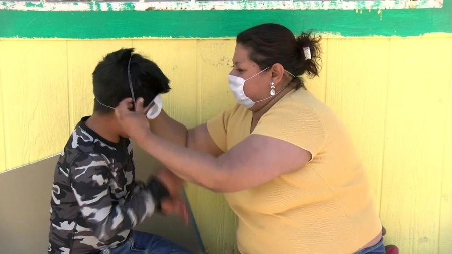 Migrants in Mexico shelters express worries over coronavirus pandemic