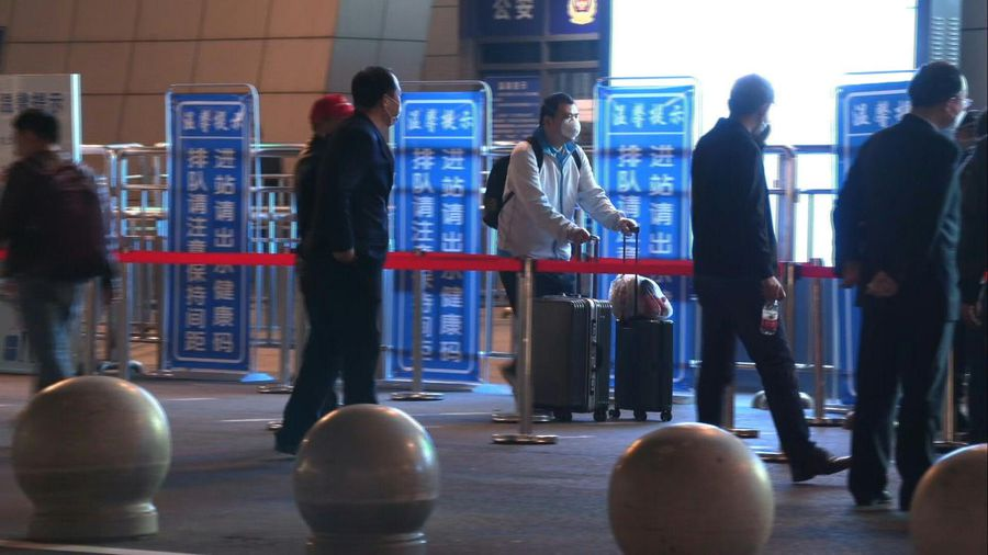 Coronavirus: thousands flock to leave Wuhan as outbound travel ban ends