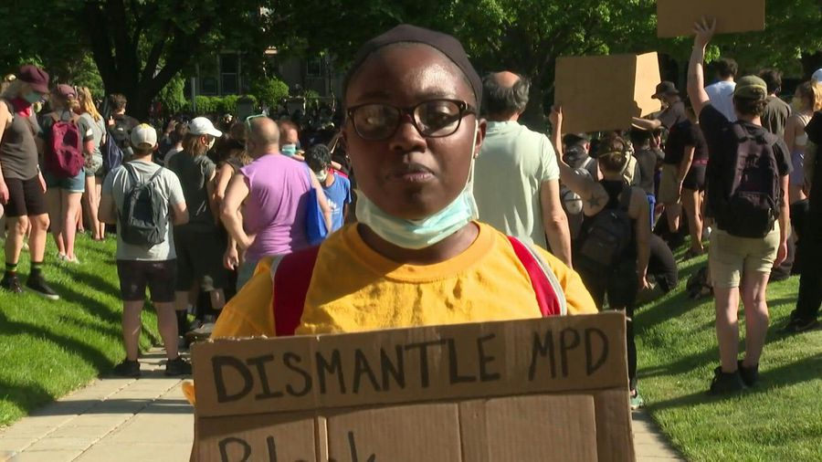 """Being black in America, this is what it does"" : Minneapolis protester"