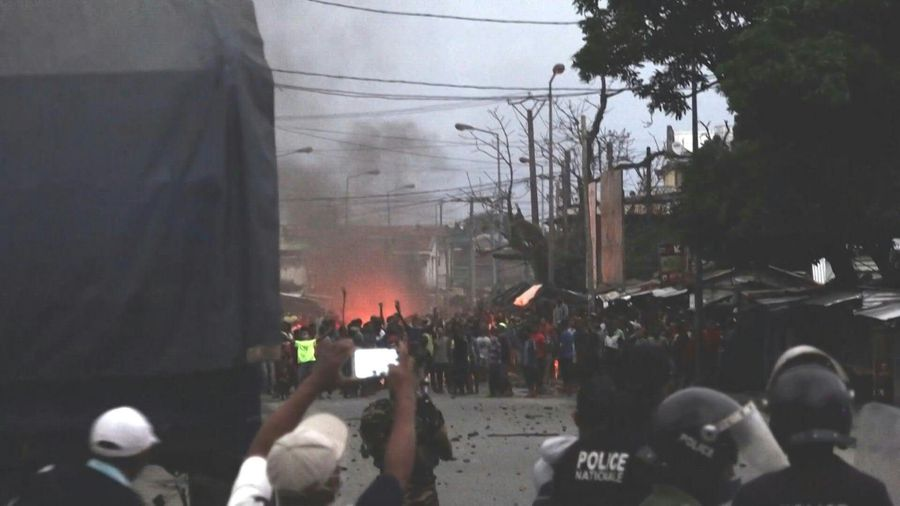 Madagascar anti-lockdown protests flare after alleged police violence