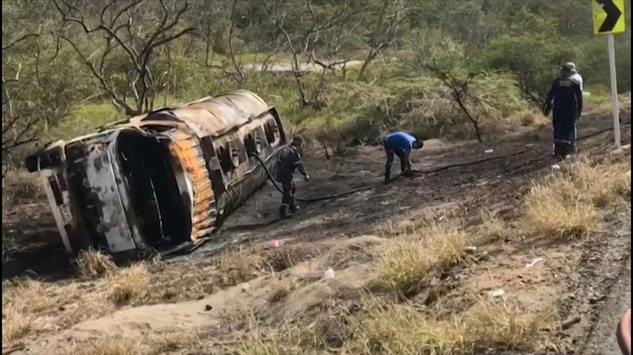 At least seven dead and 46 wounded in truck explosion in Colombia