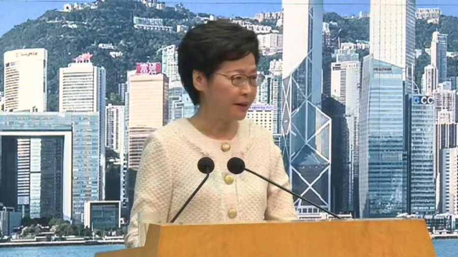 Hong Kong to 'vigorously implement' new security law