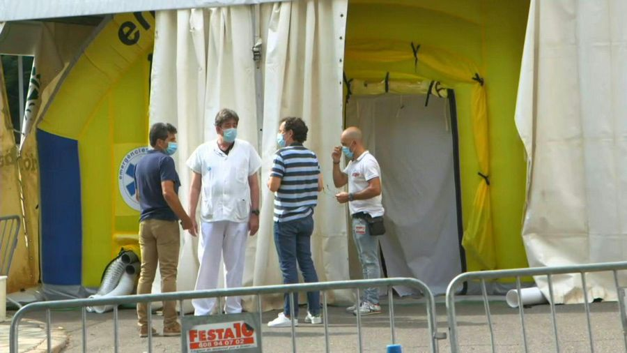 Catalonia: Lerida medical centre sets up emergency unit for COVID patients