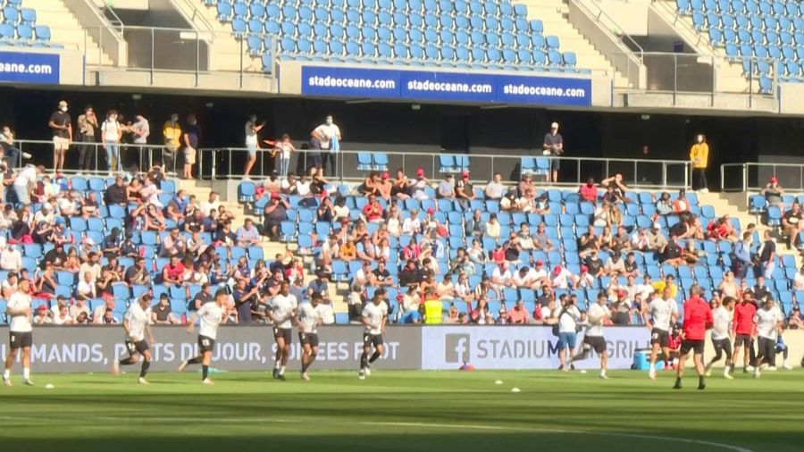 Football: 5,000 spectators for Le Havre-PSG as stadiums reopen in France