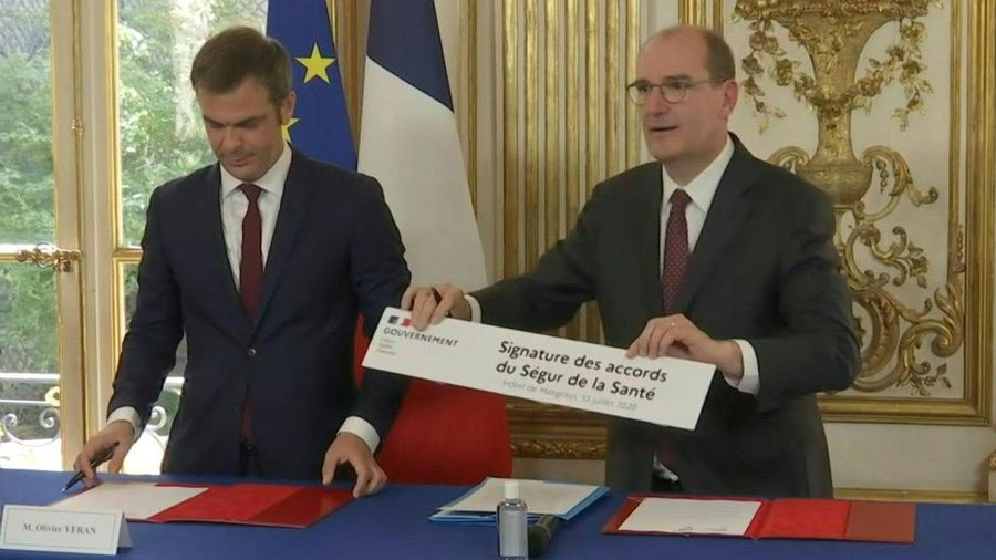 French government signs 'Ségur agreements' with hospital unions