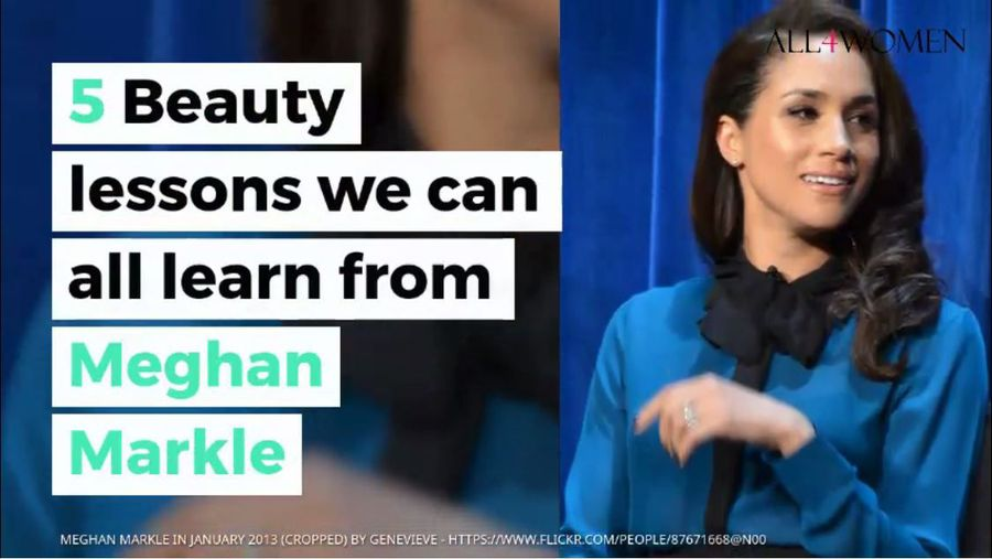 5 Beauty lessons we can all learn from Meghan Markle, the Duchess of Sussex