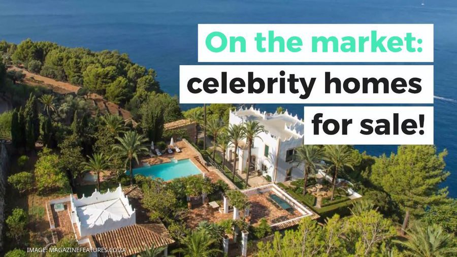 On the market: Celebrity homes for sale