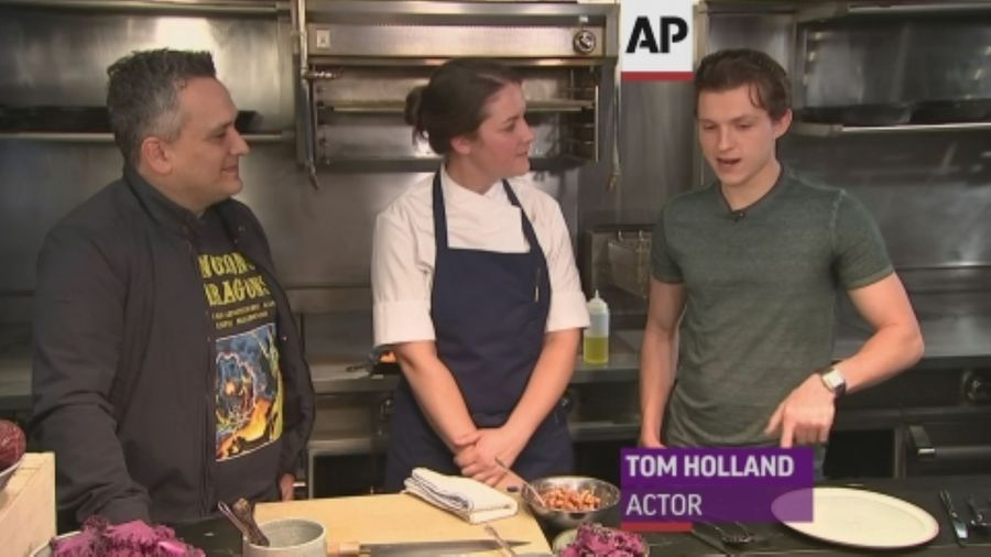 Tom Holland's go to Instagram recipe