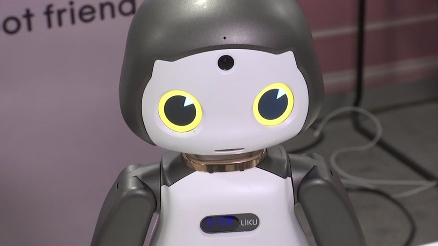 Robots tug on the heartstrings at CES gadget show