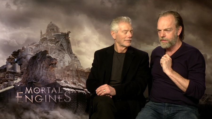 My First Award: Stephen Lang & Hugo Weaving