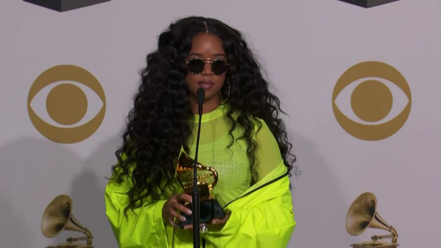 H.E.R. is hitting her goals