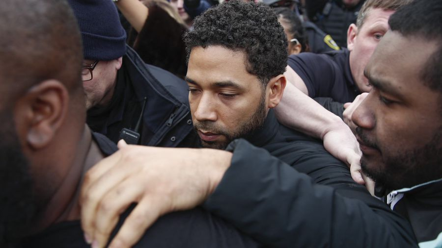 Actor Smollett allegedly lied about hate crime