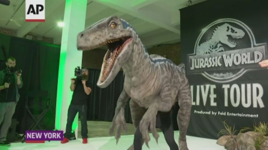 'Jurassic World' goes on tour