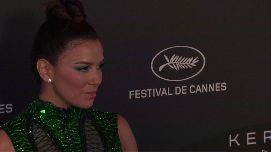 Longoria: Cannes going 'in the right direction' over gender parity