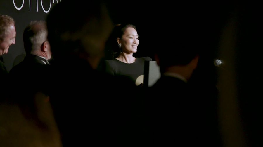 Gong Li honored with Women in Motion award