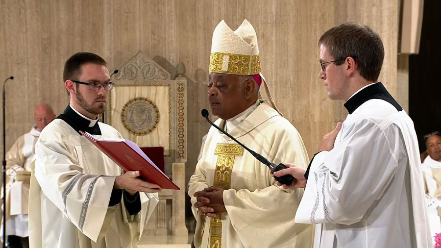 Archbishop Gregory installed in Washington, DC