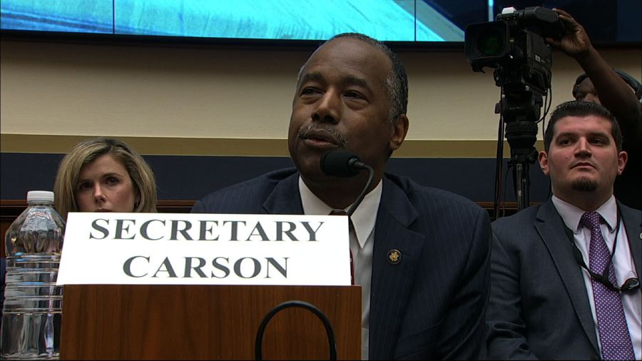 Ben Carson stumbles in 'field of acronyms'