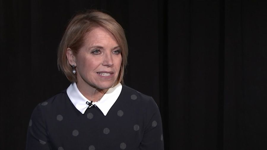 Katie Couric wants to help cancer survivors
