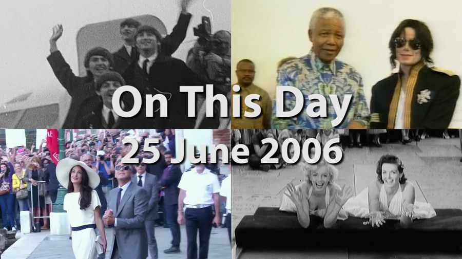 On This Day: 25 June 2006