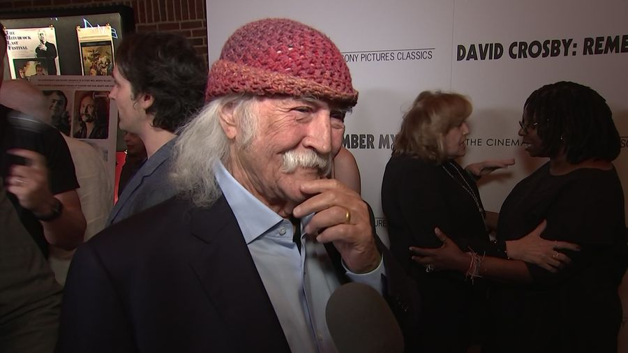 David Crosby compares new doc to 'being naked in public""