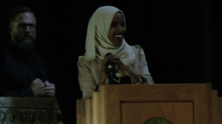 Supporters welcome Ilhan Omar home to Minnesota