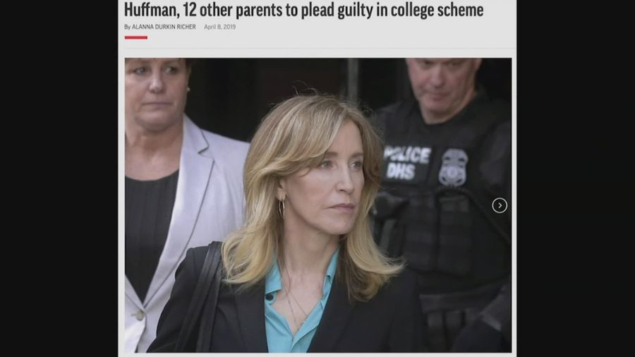 Bassett: Huffman 'very remorseful' over college admissions scandal