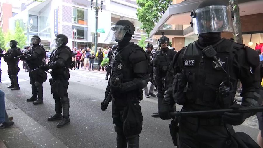 At least 13 people arrested at Portland protest