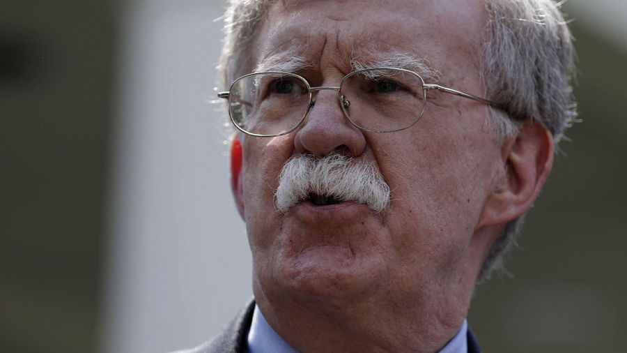 AP Debrief: Bolton out as nat'l security adviser