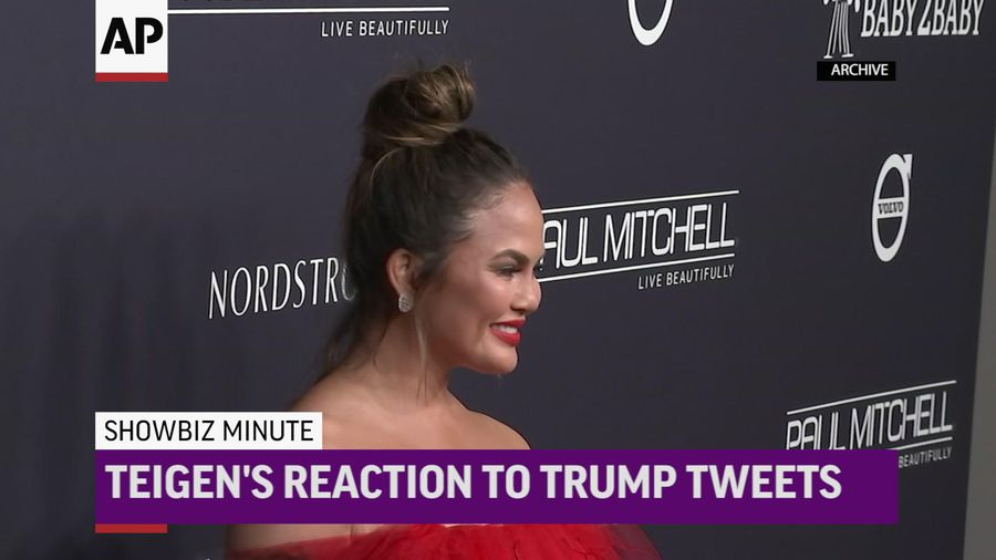 ShowBiz Minute: Teigen, Hayek, Williams