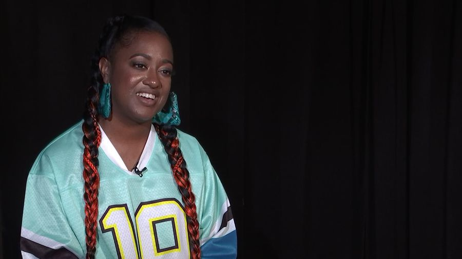 Rapsody on Lauryn Hill influence, Jay-Z 'air-dunking' on her