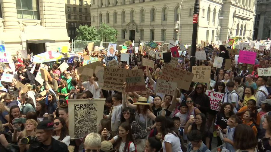 NYC climate march joins global call for action