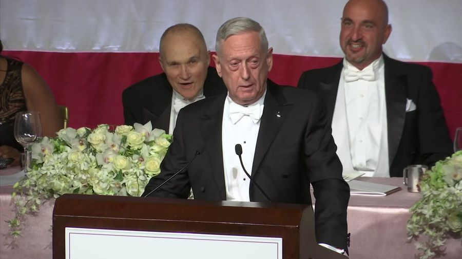 Mattis: 'I'm the Meryl Streep of generals'