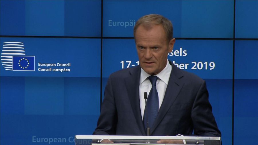 EU Tusk scathing about 'so called' Syria ceasefire