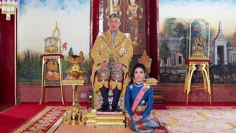 Thai king strips consort of royal titles for disloyalty