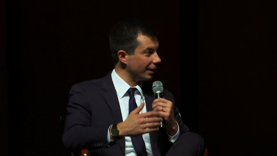Buttigieg visits Morehouse to build black support
