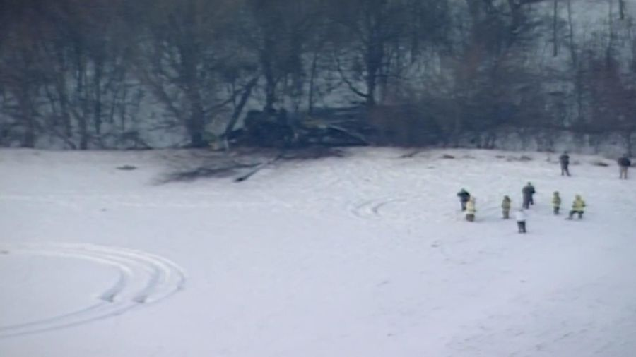 Governor: 3 dead in military helicopter crash