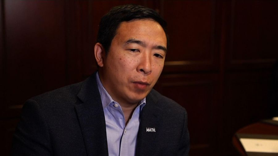 Andrew Yang: Trump is not cause of our problems