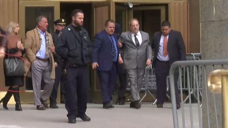 Weinstein accused of mishandling ankle monitor