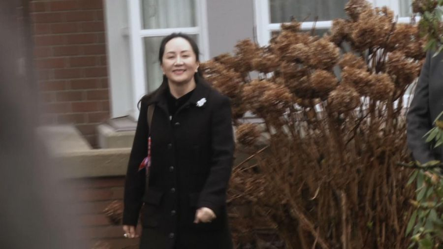 Extradition hearing begins for top Huawei exec