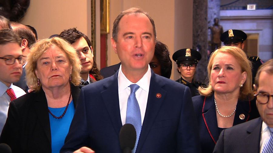 Schiff: McConnell's rules not for 'a fair trial'