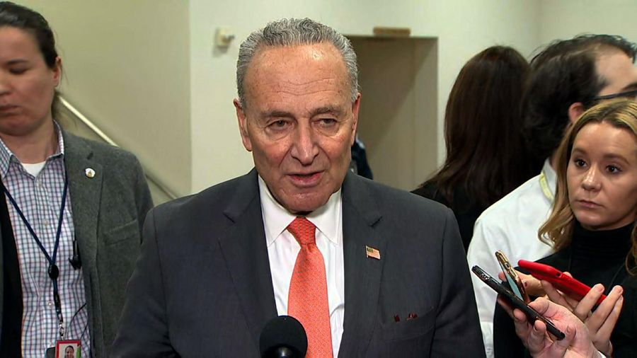 Schumer calls on GOP senators to rise to occasion