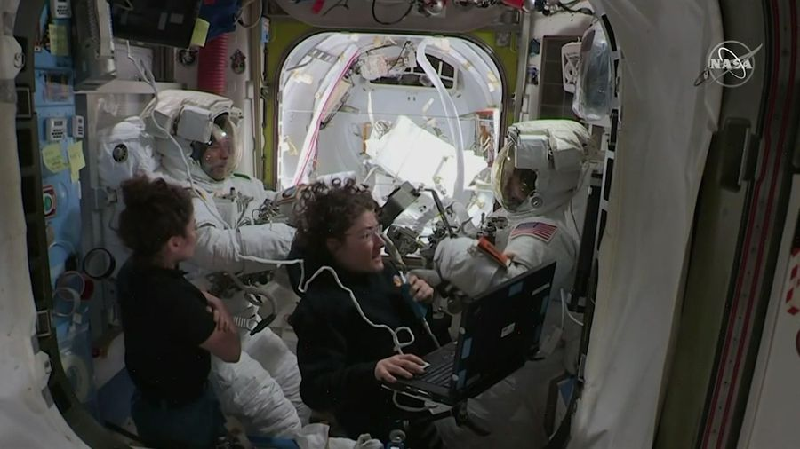 Astronaut to return home after 11 months in space
